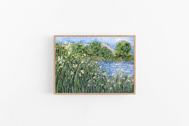 Wind on the Water | Canvas Print