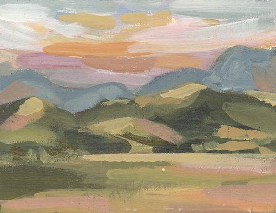 New Mexico | Landscape Canvas Print
