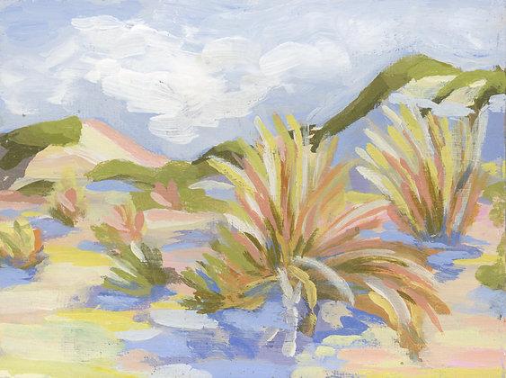 White Sands   Landscape Canvas Print