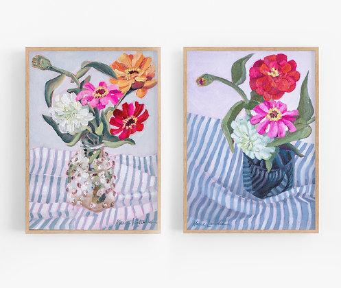 August Duo   Canvas Print Set