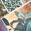 Thumbnail: Magnolia on Gold | Vertical Embellished Print
