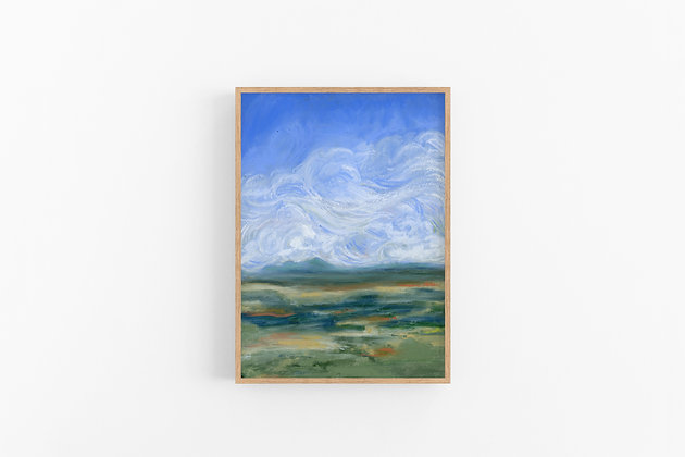 The Overlook   Vertical Canvas Print