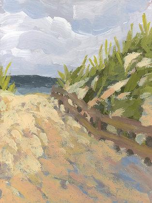 Sand Dunes | Vertical Canvas Print