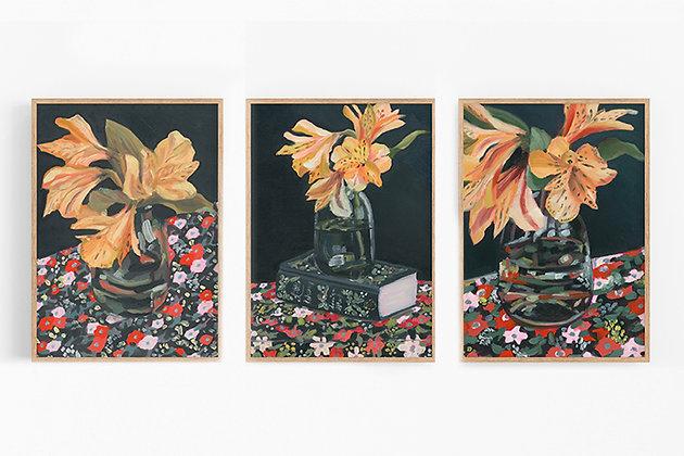 September Trio | Canvas Print Set