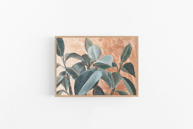 Growing Free | Embellished Canvas Print