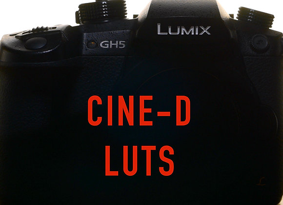 Cine-D LUTs for GH5 and G9