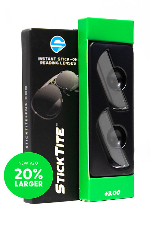 StickTite +3.00 Magnification Readers