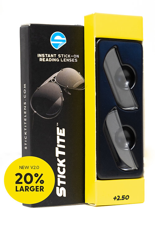 StickTite +2.50 Magnification Readers