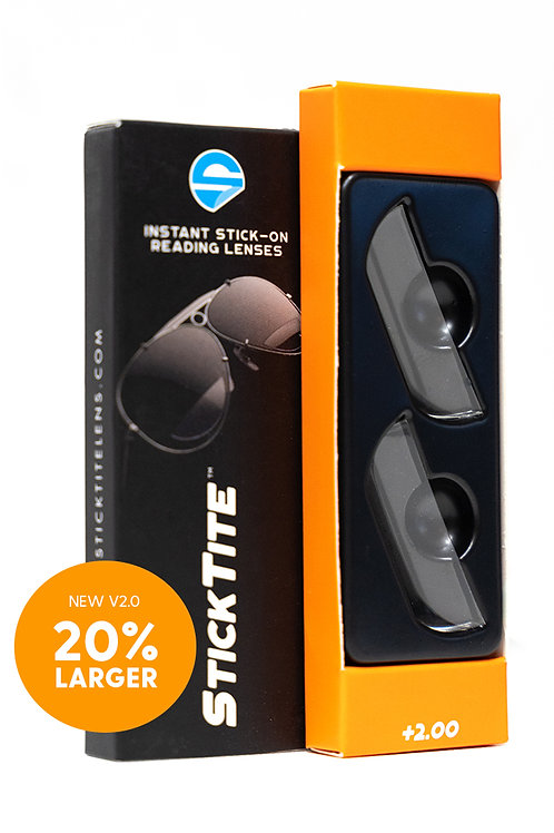 StickTite +2.00 Magnification Readers