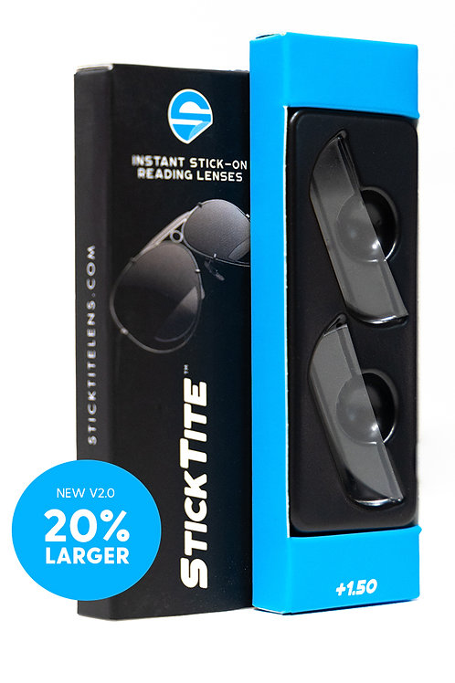 StickTite +1.50 Magnification Readers