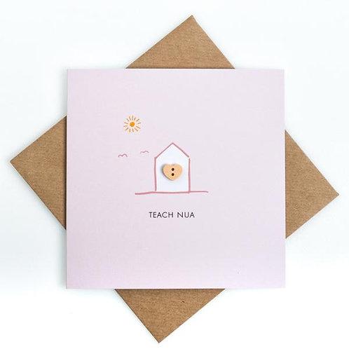 Teach Nua Handmade Irish New Home Card