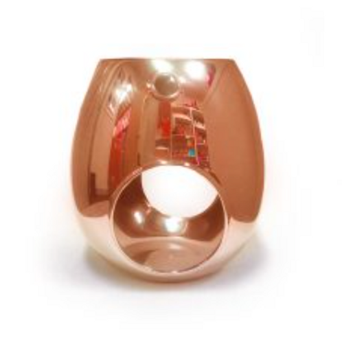 Rose Gold Electroplated Wax Melt Burner