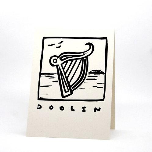 Doolin Lino Print Card