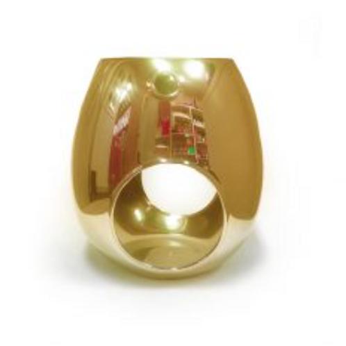 Gold Electroplated Wax Melt Burner