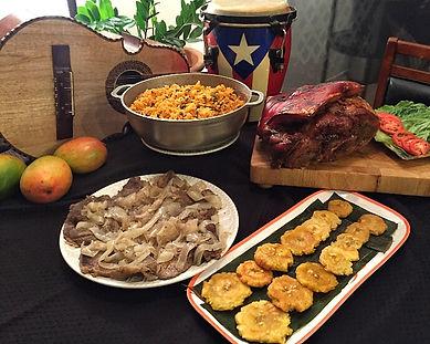 Full table tostones.JPG
