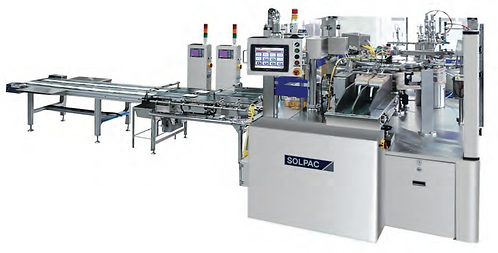 Mask pack packaging machine