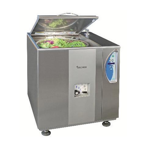 Vegetable washing and spinning machine