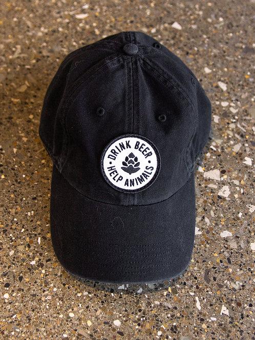 Drink Beer. Help Animals. Patch Hat