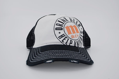 MBCo Distressed Trucker Hat