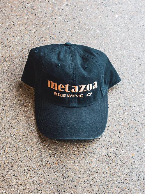 Navy Blue Wordmark Hat