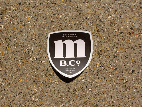 4-Pack of MBCo Shield Stickers