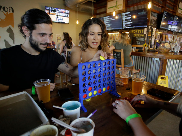 Games at Metazoa taproom