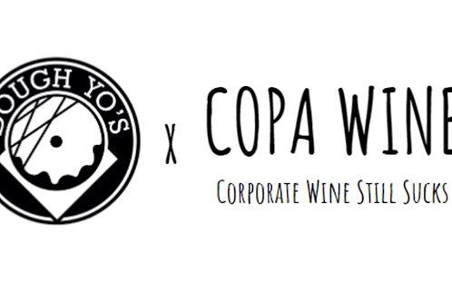 Dough Yo's x Copa Wine - 'Dough Flight'