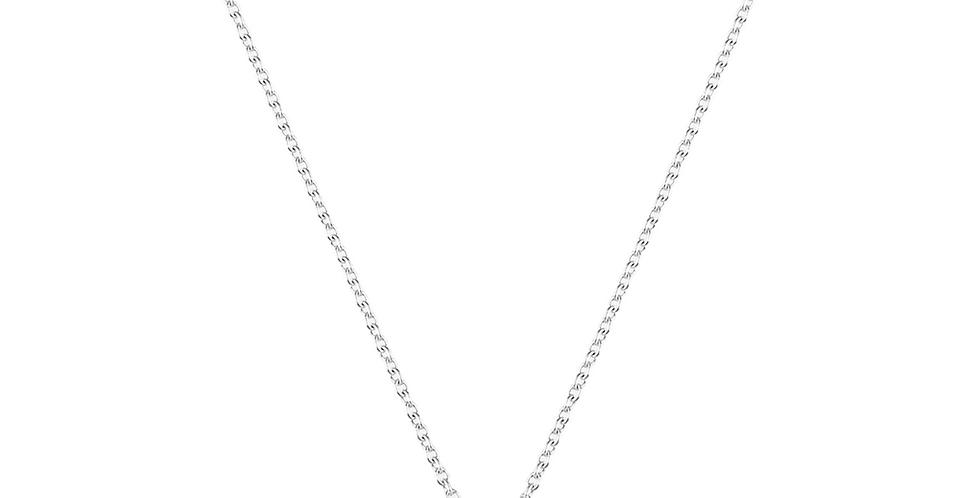 Piero Milano gyémánt medál fehérarany láncon