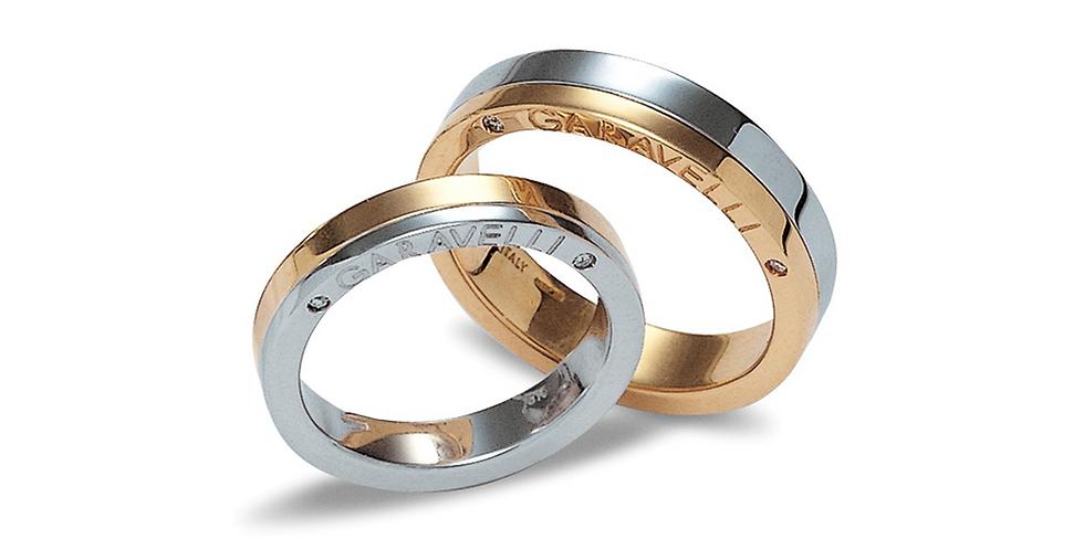 Garavelli karikagyűrű többszínű változatban
