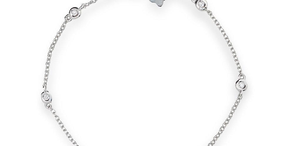 Piero Milano fehérarany karlánc gyémántokkal
