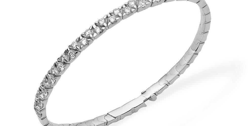 Garavelli exkluzív gyémánt karperec egysoros változatban