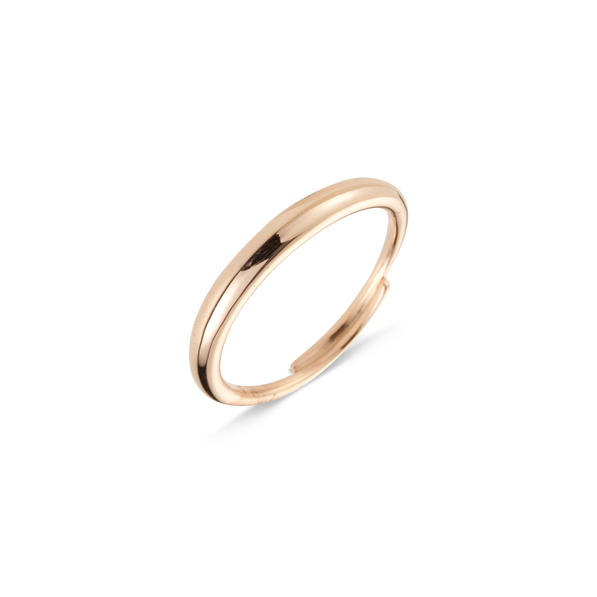 Cervera 18kt-os rózsaarany karikagyűrű