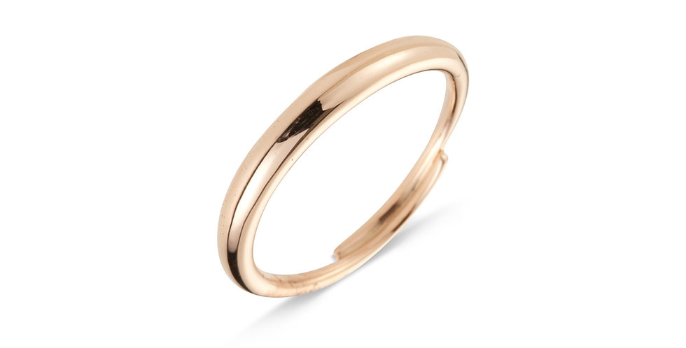 Cervera 18kt rózsaarany karikagyűrű