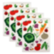 Swedish Dishcloths, 100% Natural Cellulose, Eco-Friendly, Set of 4