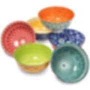 Annovero Rice Bowls, Set of 6