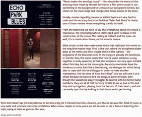 Short Stop International Film Festival - Echo Park Blues