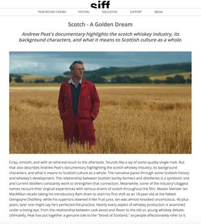 Seattle International Film Festival - Scotch - A Golden Dream