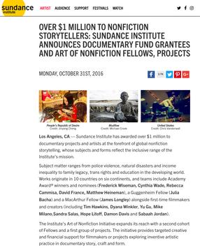 Sundance Institute - United Skates