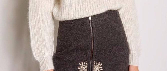 100% Wool Skirt