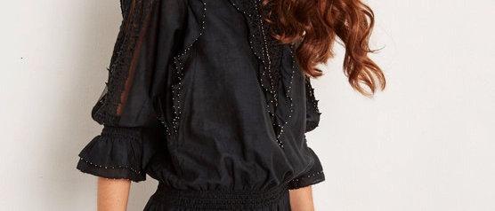 Cotton Silk Print Dress