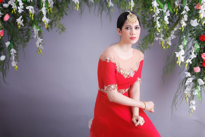 Iva Anarkali set