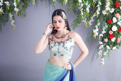 Iris Sari set