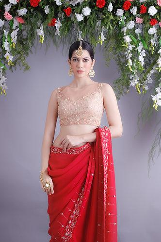 Aster Sari set