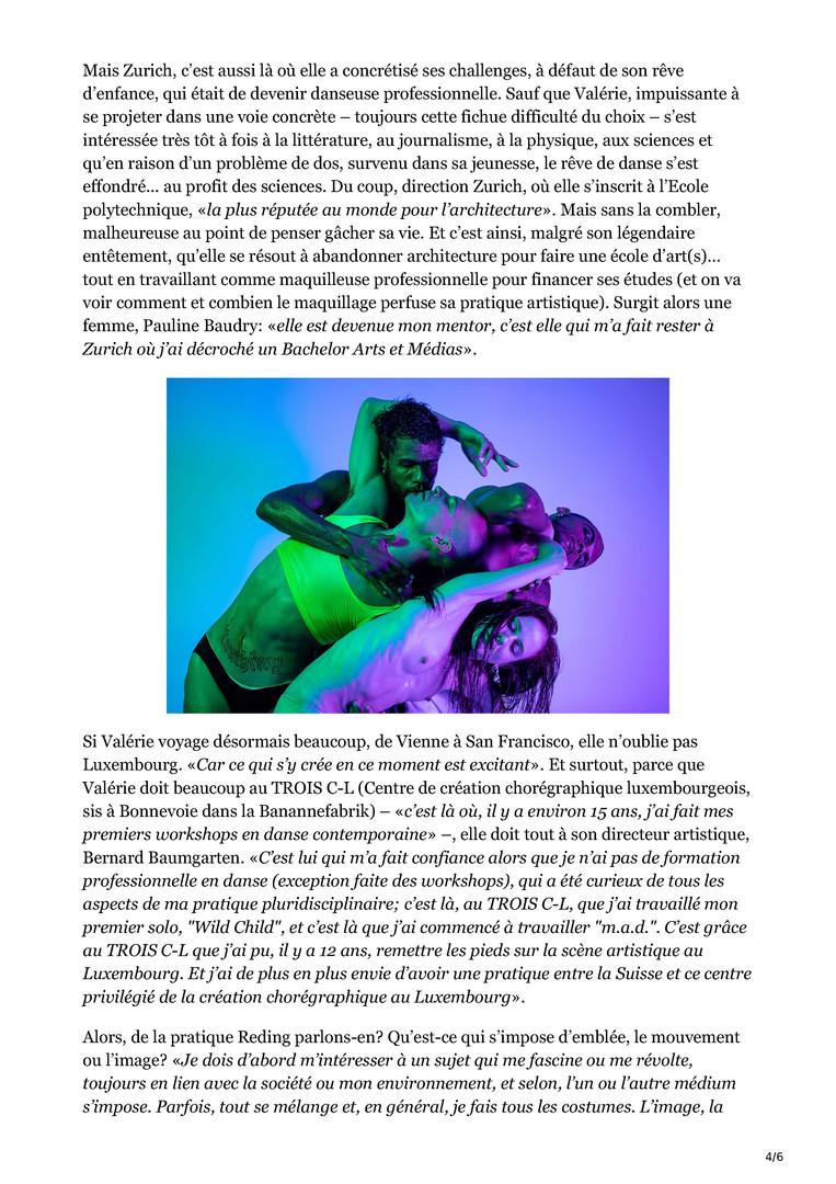 Interview par Marie-Anne Lorge