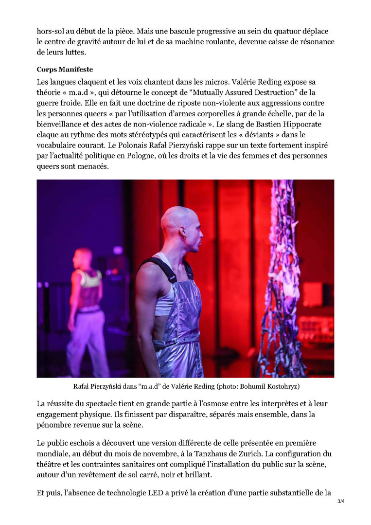 Interview by Marie-Laure Rolland for La Glaneuse