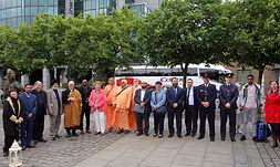 Inter-faith leaders in Dublin on World Refuee Day