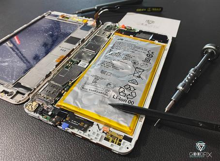 【GOODFIX】華為HUAWEI MediaPad X1/X2 電池膨脹 手機耗電 手機容易發熱發燙 更換電池-台中手機維修