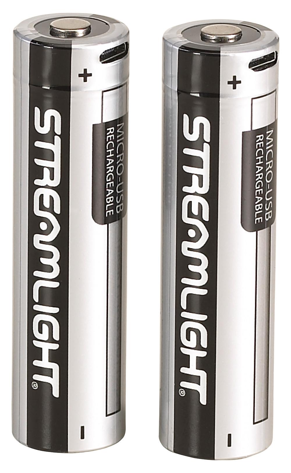 Streamlight USB-Rechargable 18650 Batteries