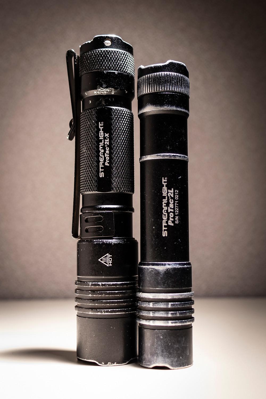 Streamlight Protac 2L Gen 1 v. Protac 2L-X Gen 1