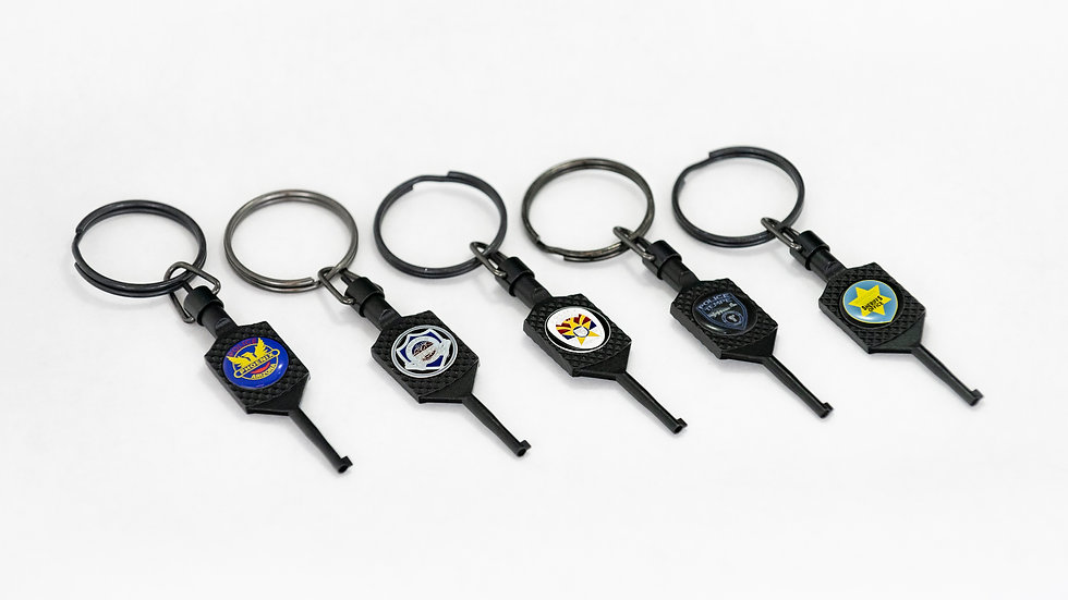 Custom Department Logo Cuff Key